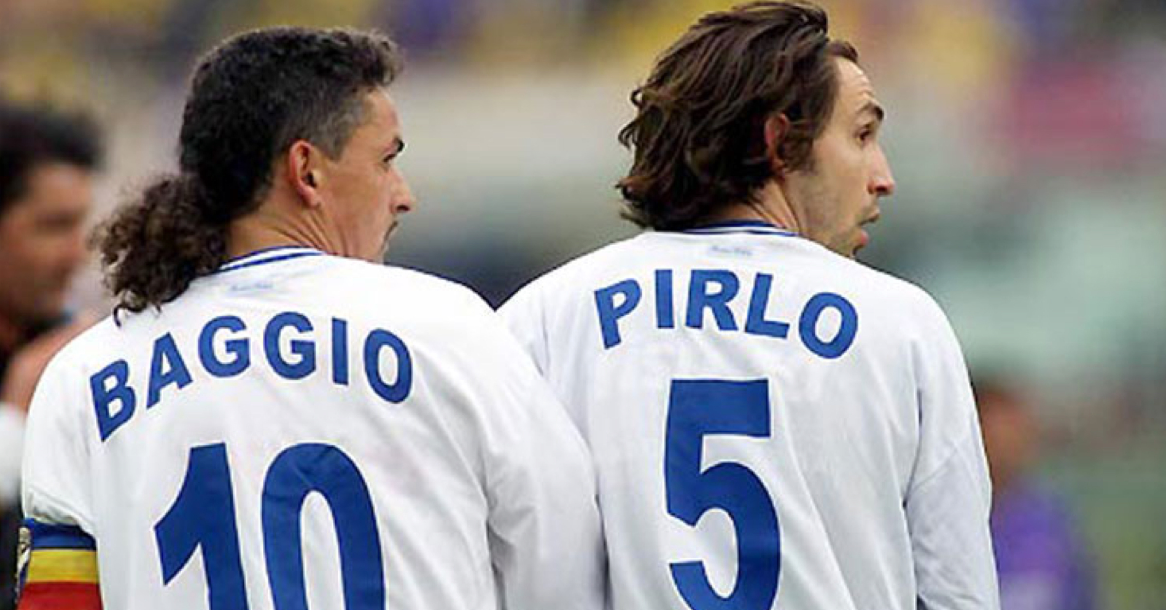 WATCH: Andrea Pirlo And Roberto Baggio Tearing Juventus Apart In 2001