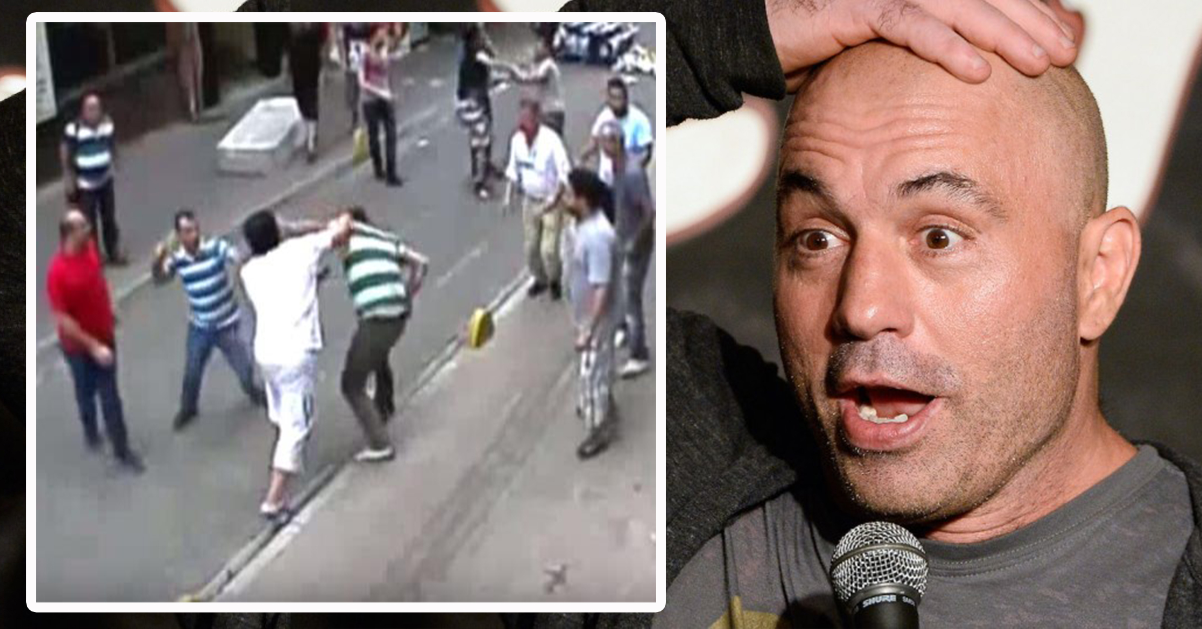 WATCH: Joe Rogan Commentates On Irish Man Fighting Off A Dozen Shopkeepers