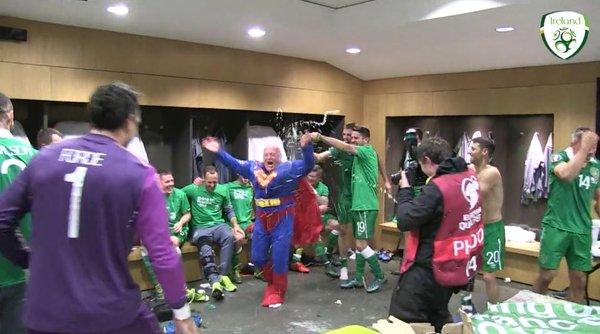 WATCH: The Banter Inside the Irish Dressing Room was Mighty!