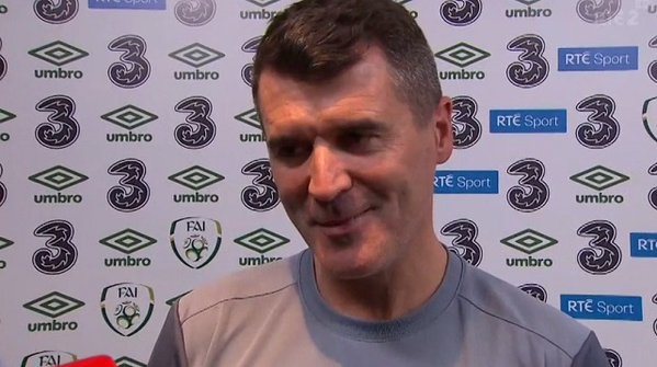 WATCH: VIDEO: Roy Keane jokes that EURO 2016 will go well for Ireland as long as there is no repeat of Saipan.