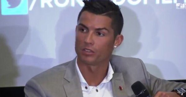 WATCH: Cristiano Ronaldo talks about Man Utd at his premiere! United fans will love this!.
