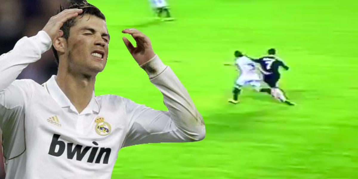Cristiano Ronaldo Faces Ban After Lashing Out At Sevilla's Grzegorz Krychowiak