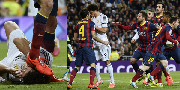 barcelona most heated moments el clasico real madrid vs barcelona most heated moments