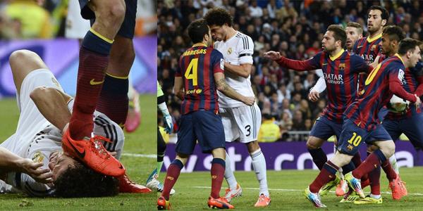 El Clásico – Real Madrid vs. Barcelona – Most Heated Moments