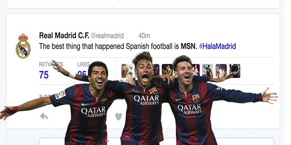 MSN: Twitter Reacts To Messi, Suarez & Neymar's Performance Tonight