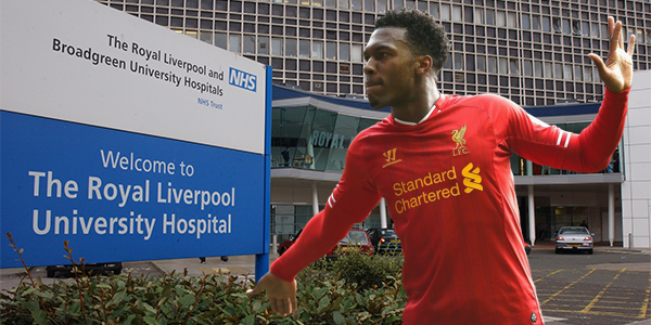BREAKING: Royal Liverpool University Hospital Make Bid For Daniel Sturridge