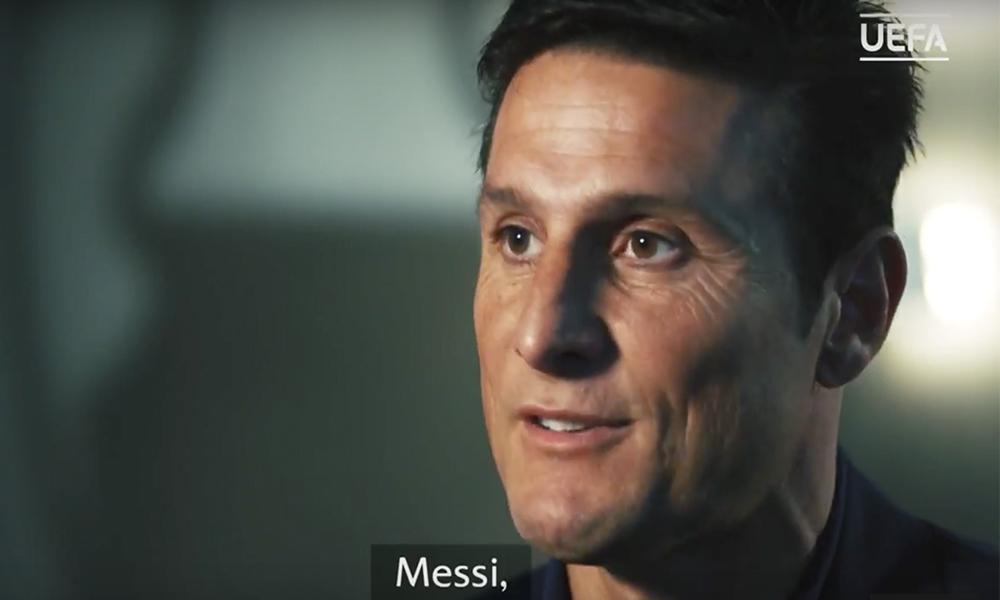 Inter Milan Legend Javier Zanetti Has Chosen His Dream Five-A-Side