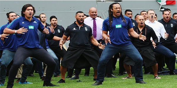 Jonah Lomu's Former Teammates Perform Emotional Final Haka At His Funeral