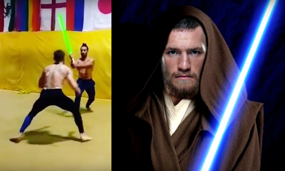 VIDEO: Conor McGregor -The Force Awakens