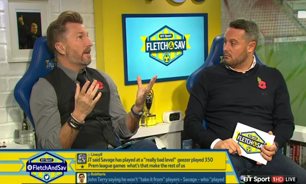 Robbie Savage Has Spoken About John Terry's Comments About His Career