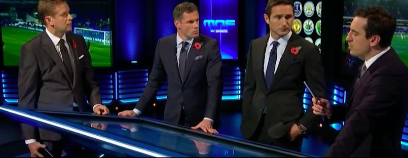 WATCH: Frank Lampard, Gary Neville & Jamie Carragher Talk Jose Mourinho & Chelsea's Season So Far