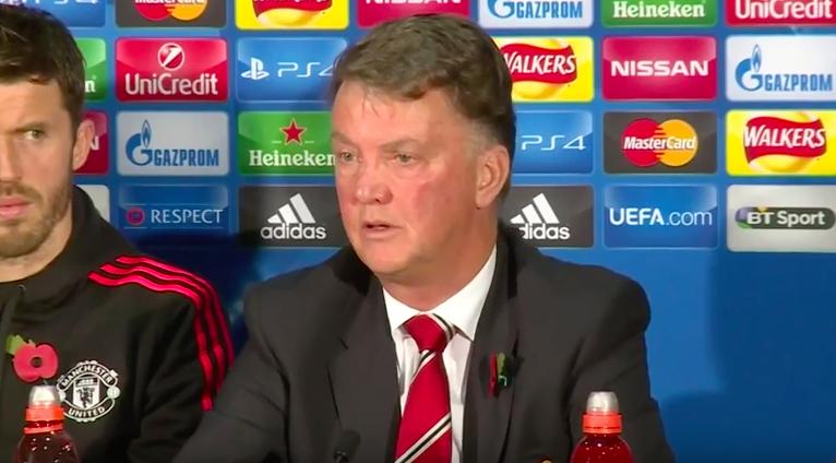 WATCH: Louis van Gaal defends Wayne Rooney before the Man United v CSKA Moscow game