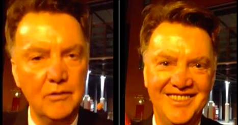 WATCH: Gaelic Football Fan Gets Louis Van Gaal to Say 'C'mon the Town' for Local Club