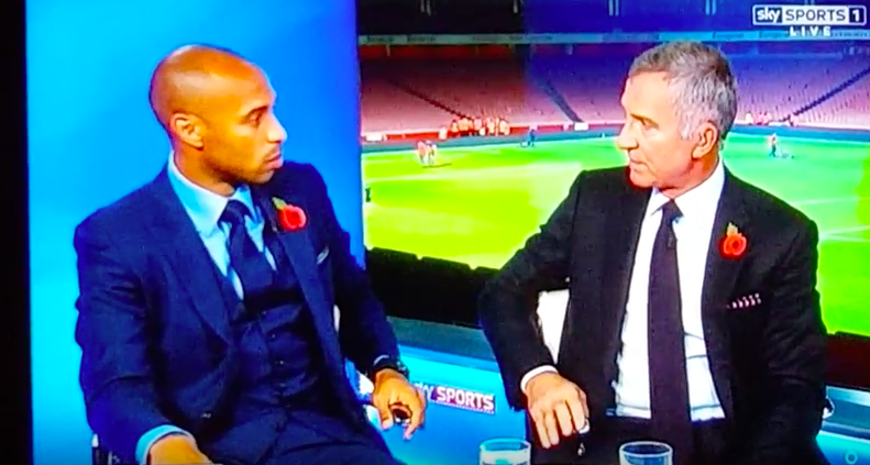 WATCH: Graeme Souness putting Henry in his place!! I'M TALKING!!!!