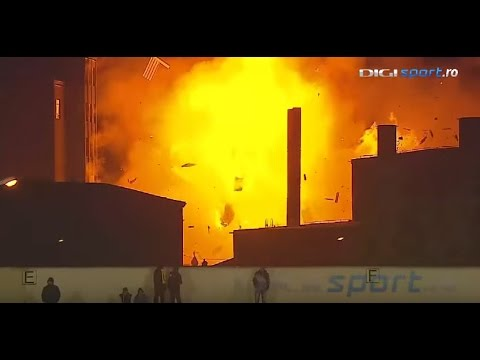 Bread Factory Explodes During Romanian Division 2 Game