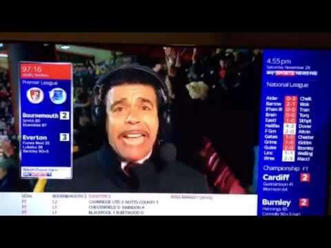 "Chris Kamara Doesn't Say ""Unbelievable Jeff"" For The First Time Ever"