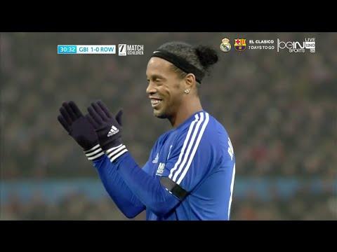 Ronaldinho vs Great Britain & Ireland – UNICEF Charity Match
