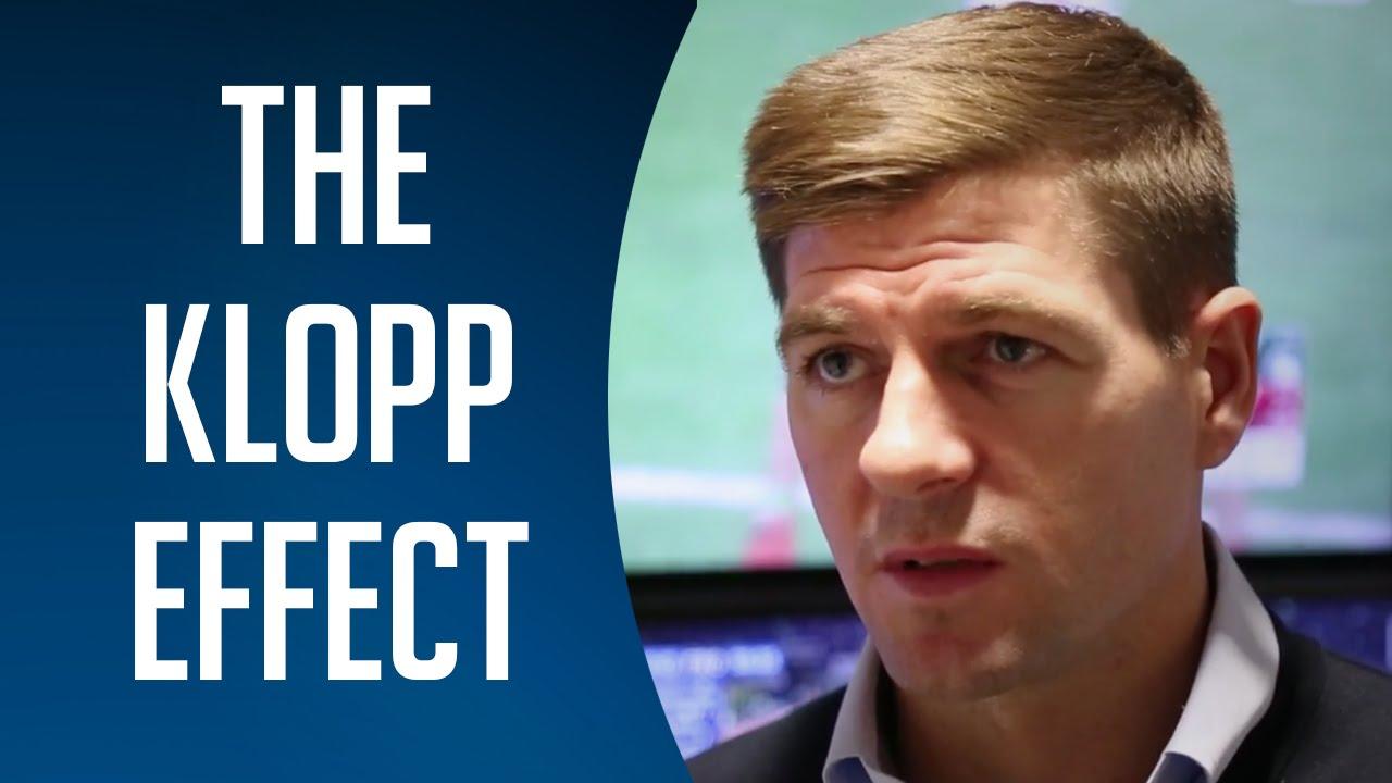 Steven Gerrard Talks About 'The Klopp Effect' At Liverpool