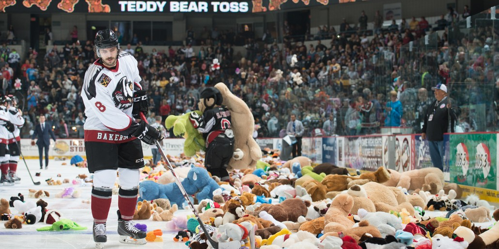 WATCH: Recording Breaking Teddy Bear Toss at a Ice Hokey Game