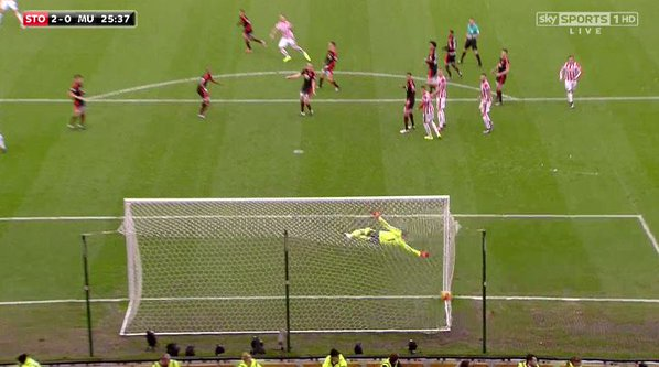 GOAL: Marko Arnautovic Scores Cracker To Give Stoke 2-0 Lead