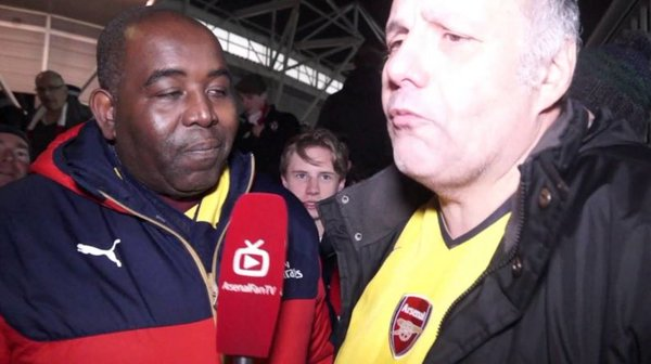 WATCH: Arsenal fan Claude with this epic rant after 4-0 defeat to Saints!