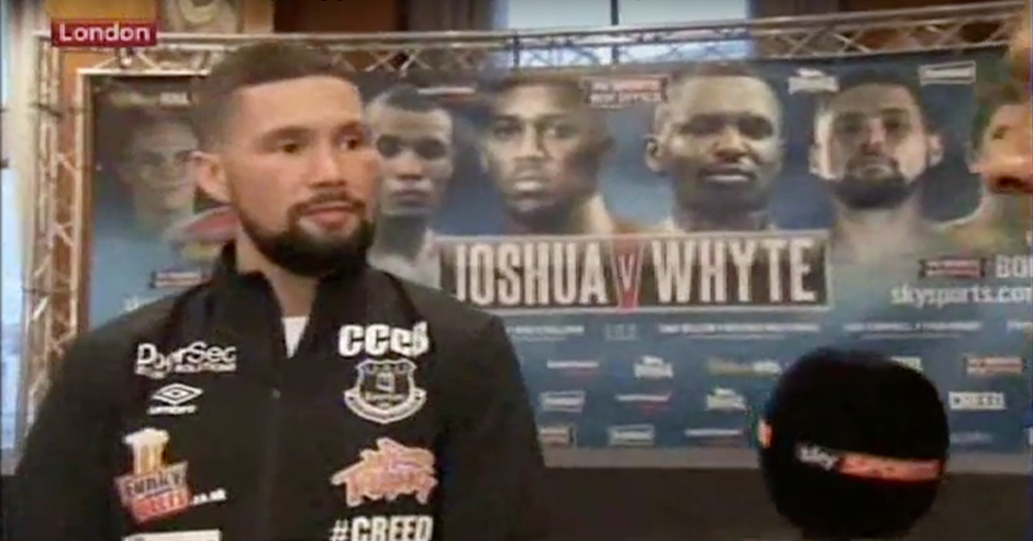 Tony Bellew Picks Poor Choice Of Words During Sky Interview