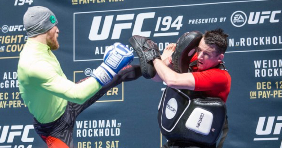 Watch Conor McGregor's Full UFC 194 Open Workout In Las Vegas
