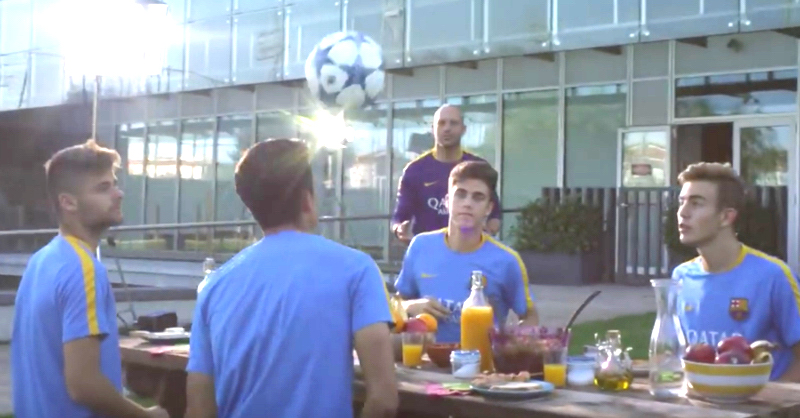 Barcelona Youth Team Flaunt Skills In Impressive Promo Video