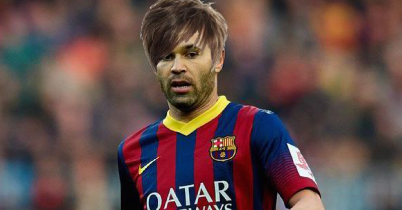 The Internet Has Reacted To Andres Iniesta's New Hairstyle