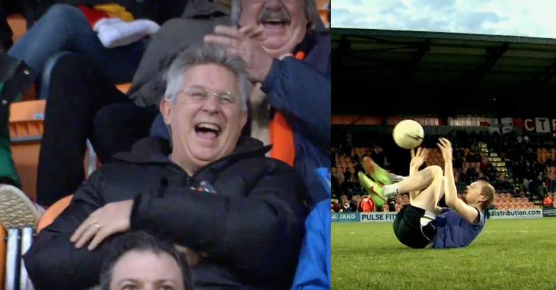 Tyler Freestyler STUNS Barnet And Crawley Fans At The Hive
