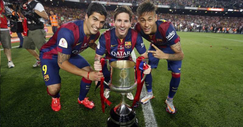FC Barcelona Release Awesome Club Review Of 2015