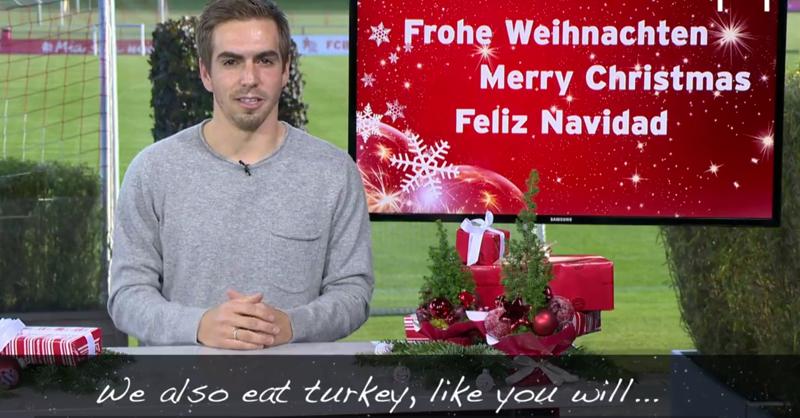 Philipp Lahm Trolls Bastian Schweinsteiger In Special Christmas Message