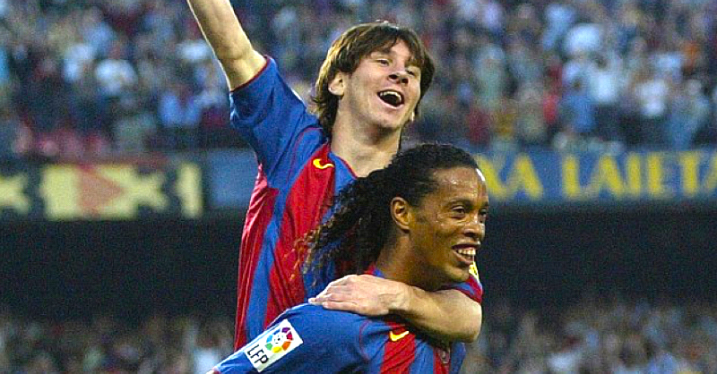 Barcelona Release Documentary About The Story Behind Ronaldinho And Messi