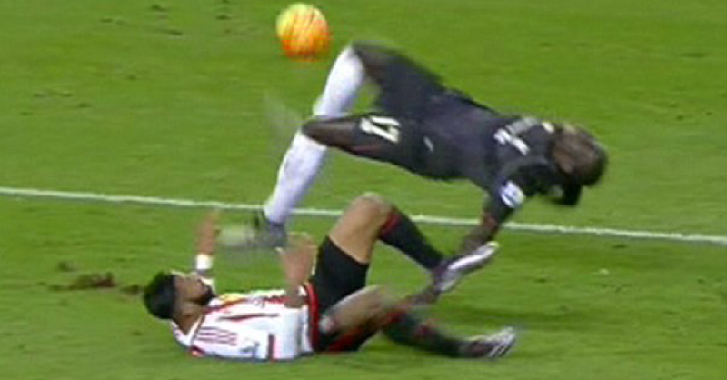 Police Get Involved Over Lens Tackle On Sakho Last Night
