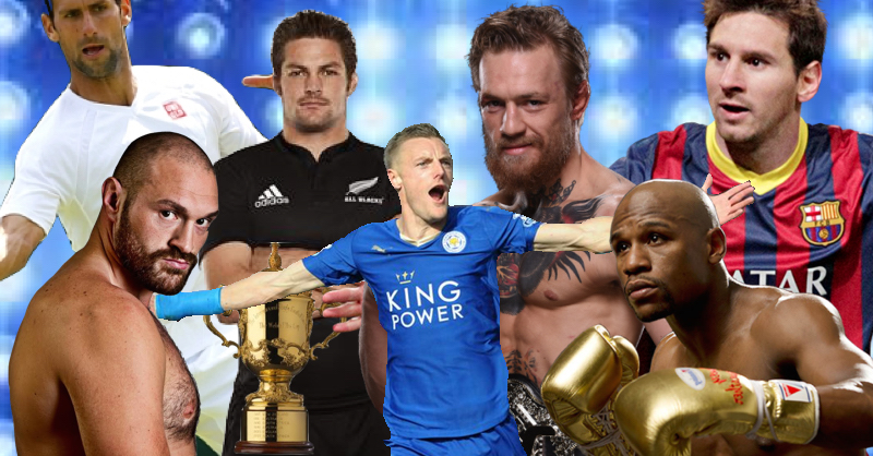 VIDEO: All Of 2015's Best Sporting Moments