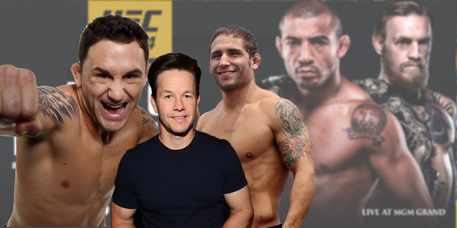 Frankie Edgar, Chad Mendes And Mark Wahlberg Give Their Predictions For Aldo/McGgregor