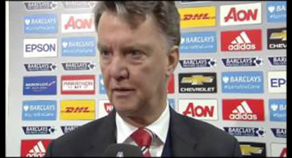 WATCH: Man Utd 0-0 West Ham – Van Gaal Remains Positive