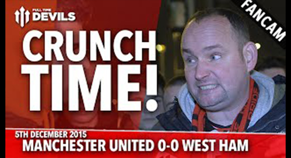 WATCH: Andy Tate: It's Crunch Time! | Manchester United 0-0 West Ham United