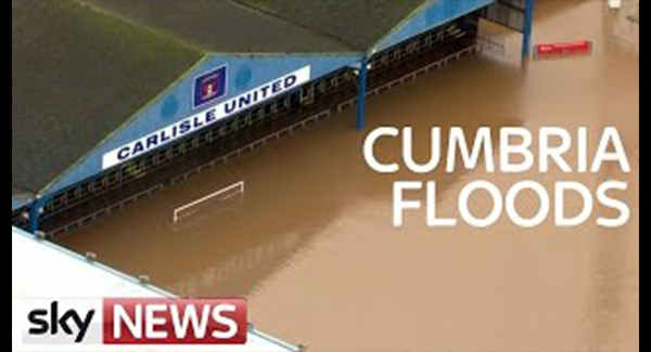 WATCH: The Scale Of Flooding In Cumbria