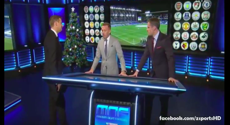 WATCH: Jamie Carragher & Craig Bellamy Analysis On Stoke City beats Manchester City
