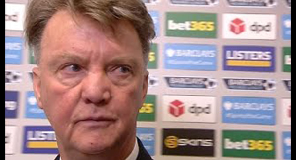 WATCH: Stoke 2-0 Manchester United – Louis van Gaal Post Match Interview – Gives Deadly Stare At Reporter!