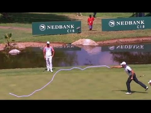 Henrick Stenson Uses His Magic Powers To Sink Putt