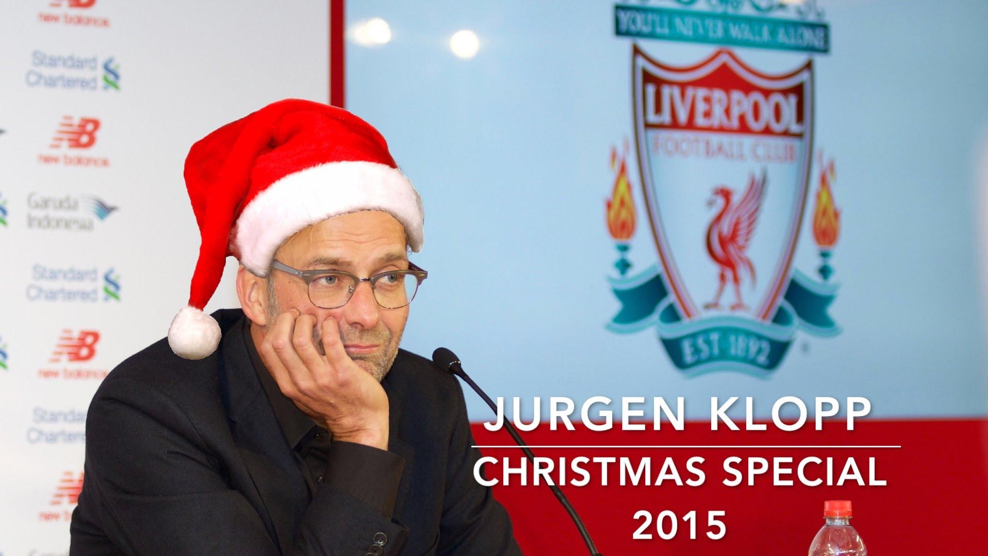 Jurgen Klopp's Funniest Moments – Christmas Special 2015
