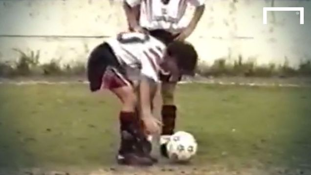 WATCH: Unique Footage Of 12 Year Old Lionel Messi Playing For Newell's In 1999