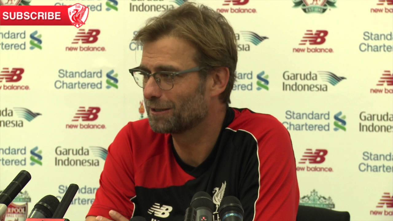 "WATCH: Jurgen Klopp on Steven Gerrard in training: ""It's good to have him here"""
