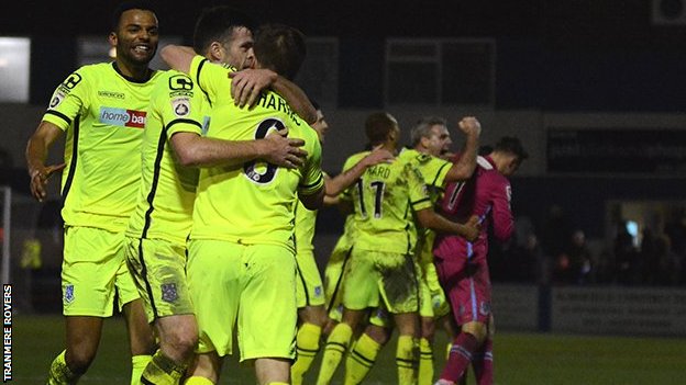 WATCH: Barrow 3-4 Tranmere Sensational comeback win for Rovers after triple injury time goal blitz