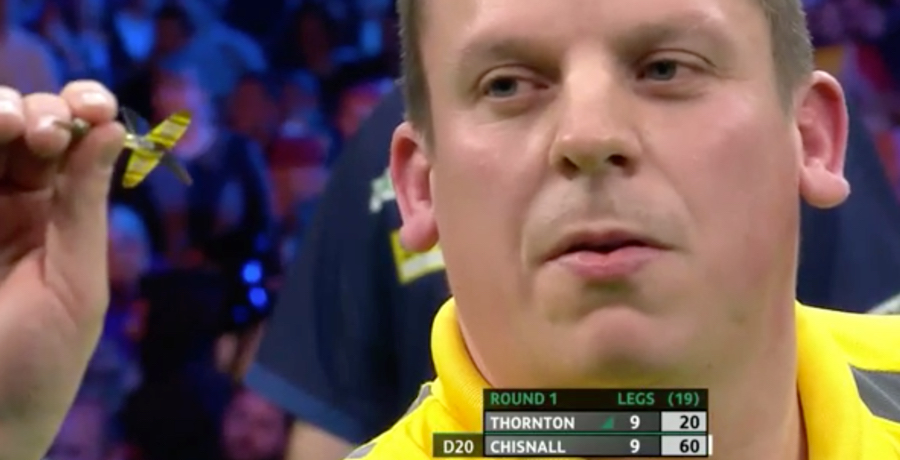 VIDEO: Dave Chisnell Comes From 8-0 Down To Beat Robert Thornton 10-9