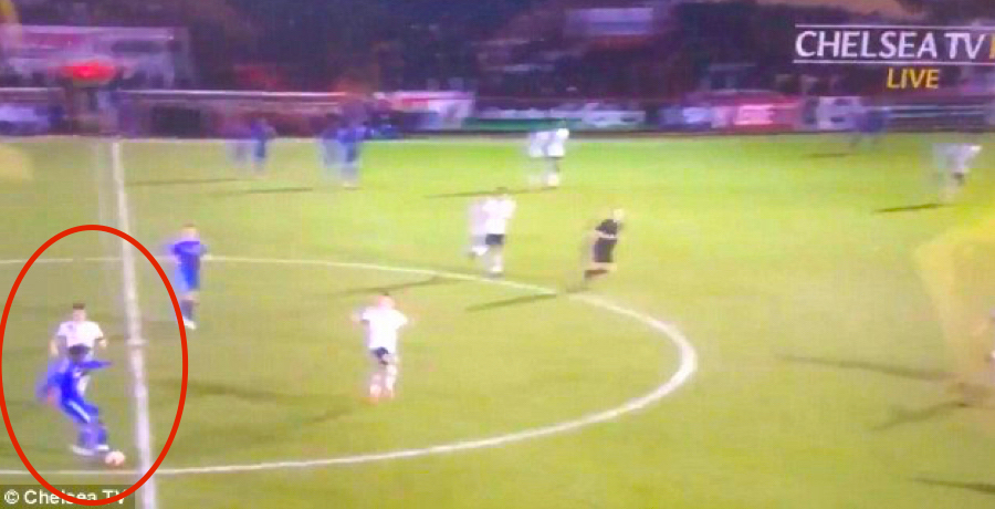 Chelsea U21 Ola Aina Scores From Inside His Own Half