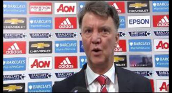WATCH: Louis Van Gaal Post Match Interview Manchester United Vs Swansea 2-1 LVG