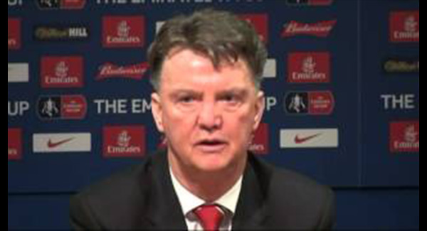 WATCH: Louis van Gaal concedes 'it's not good' as Manchester United scrape win